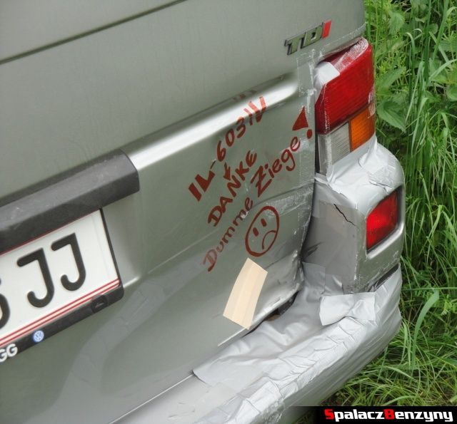 Uszkodzenia na VW na Worthersee 2013