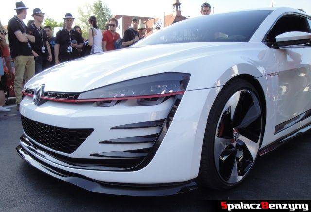 VW Golf GTI desing vision lewy przód na Worthersee Tour 2013