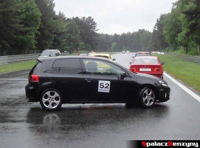VW Golf GTI na TPTD 25 maj 2013