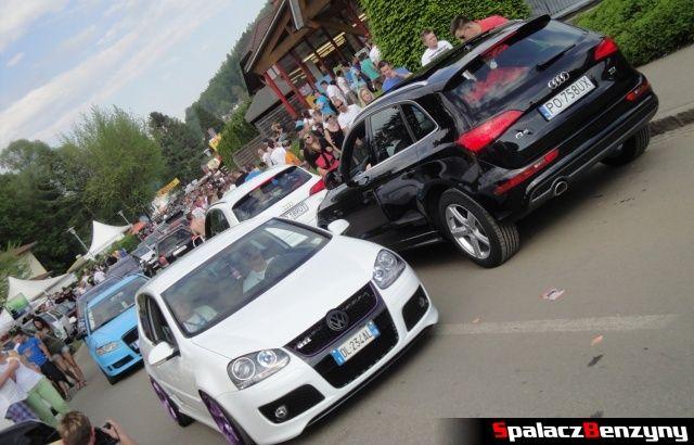 VW Golf i Audi Q5 na Worthersee 2013