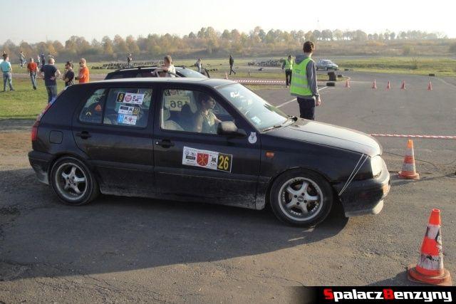 VW Golf na Rally Sprint Cemex 2012 w Lublinie