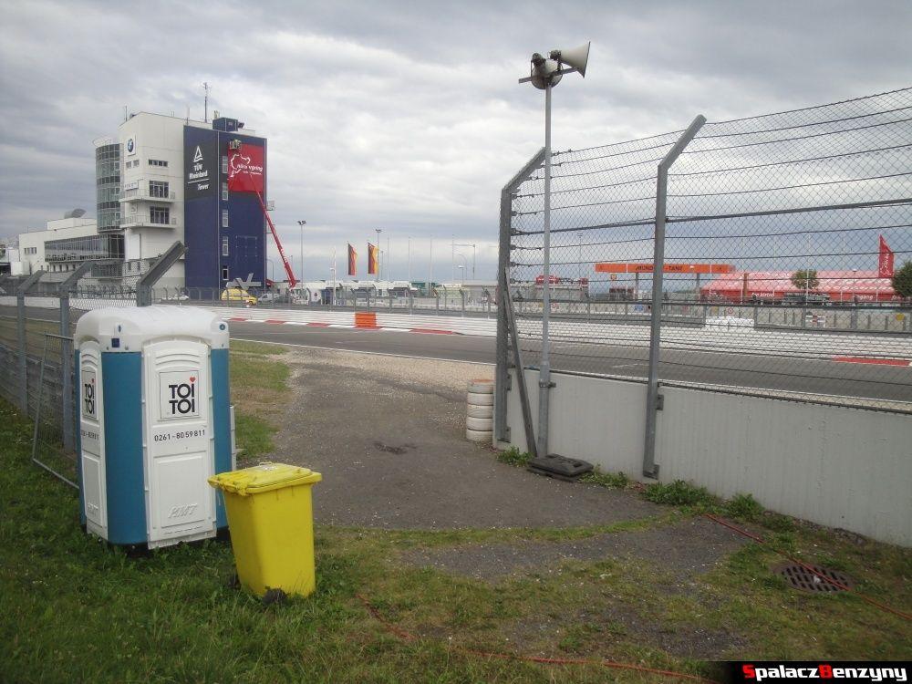 Wejście na tor Nurburgring