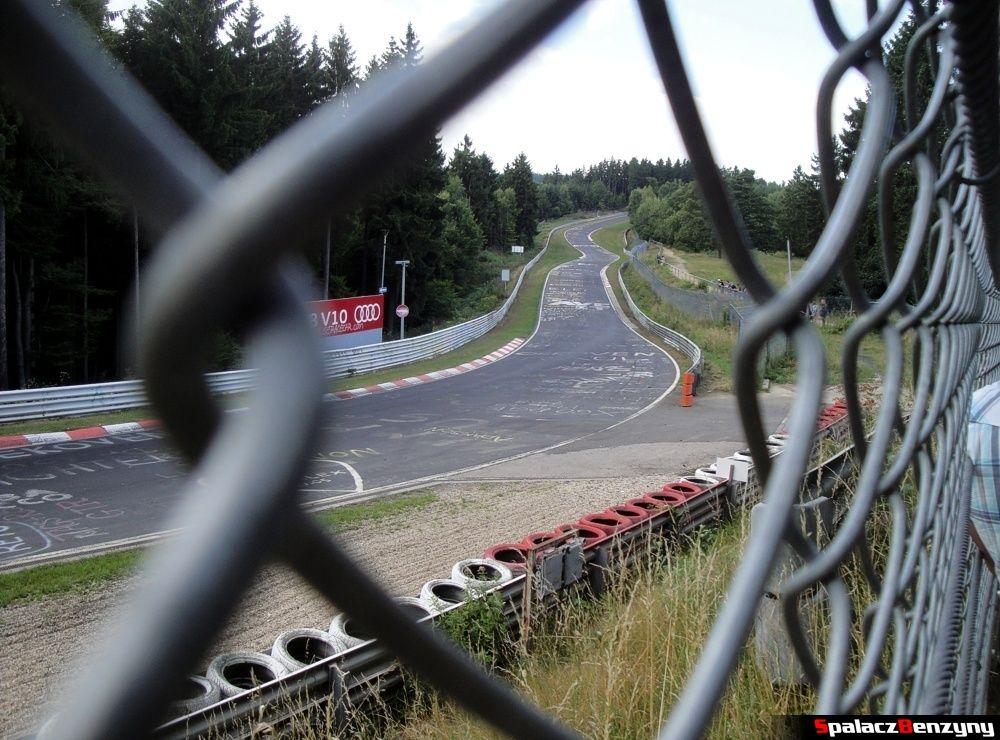 Widokowy odcinek na Północnej Pętli Nurburgringu