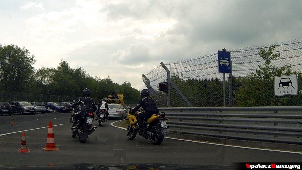 Wjazd na Północnej Pętli Nurburgringu