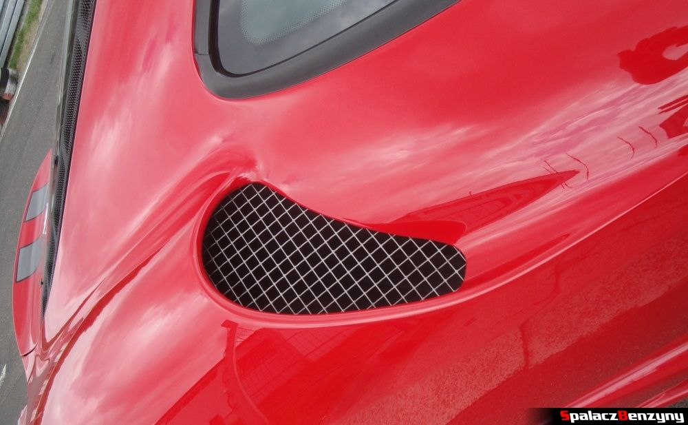 Wlot powietrza Ferrari 430 Scuderia na Gran Turismo Polonia 2013