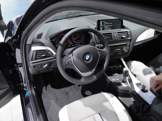 Wnętrze nowego BMW serii 1