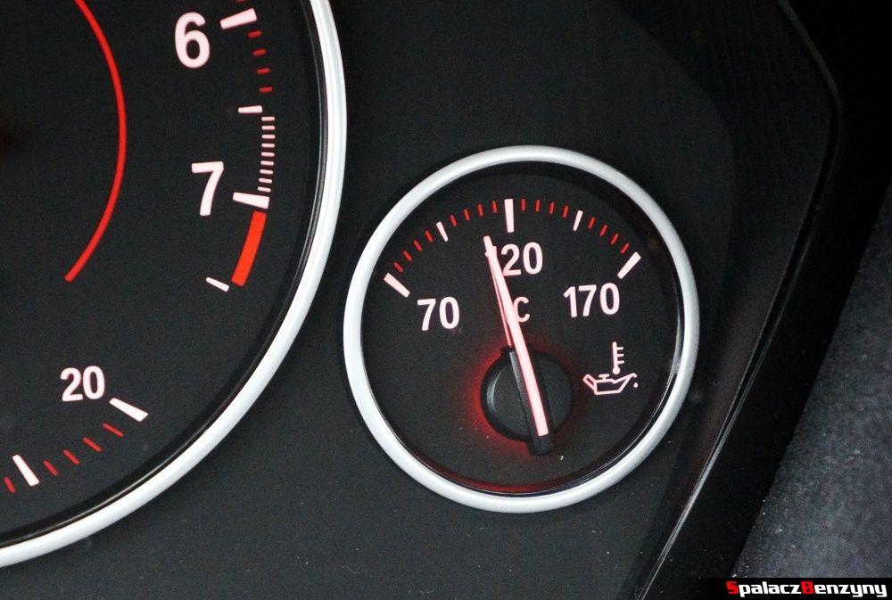 Wskaźnik temperatury oleju BMW 316i 2013