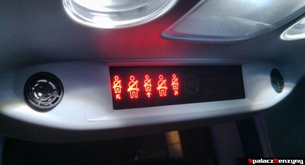 Wskaźnik zapięcia pasów Peugeot 308