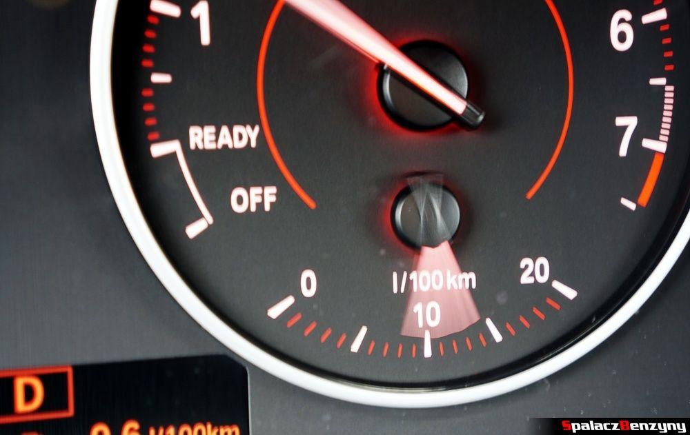 Wskazówka spalania BMW 316i 2013