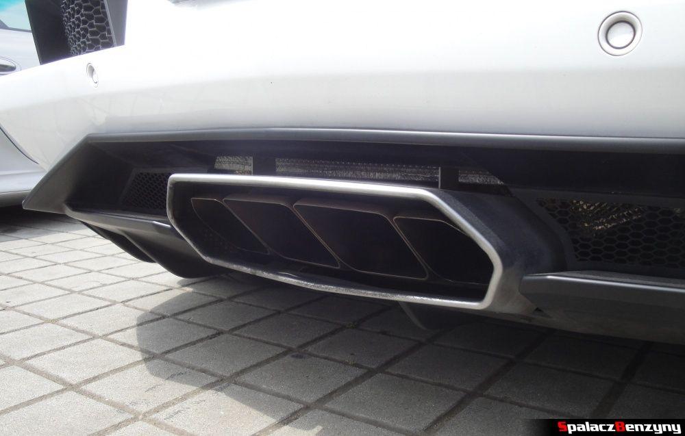 Wydech Lamborghini Aventador na Gran Turismo Polonia 2013