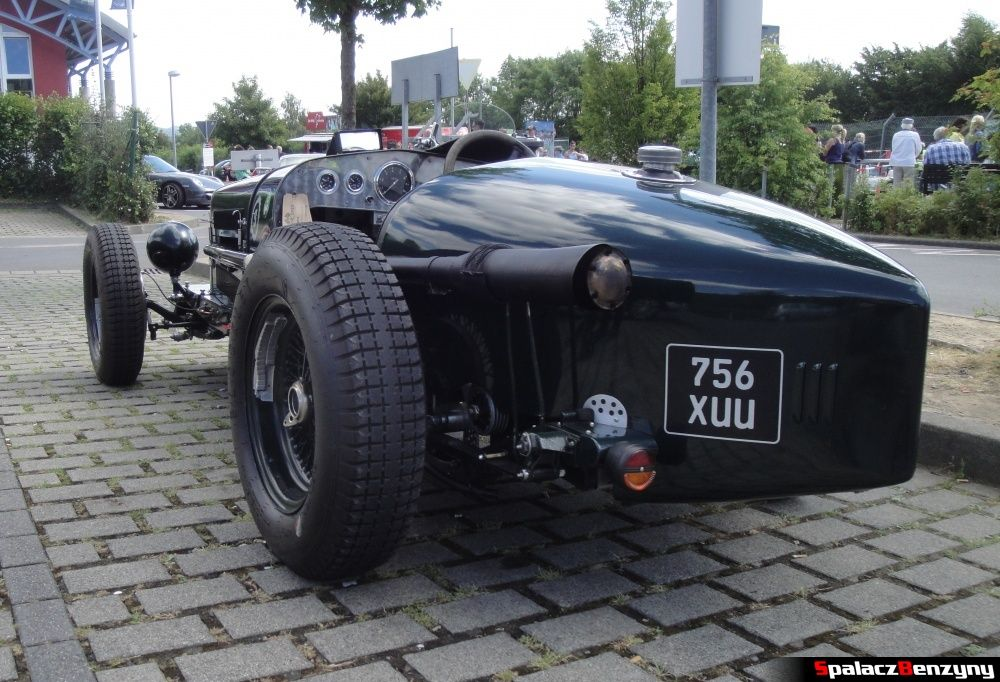 Wydech Wolseley Hornet Special na Nurburgring Nordschleife