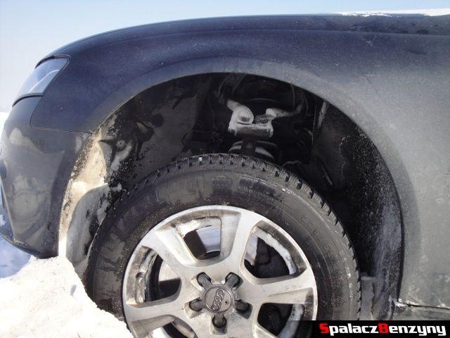 Wysokie zawieszenie Audi na Snow Fun