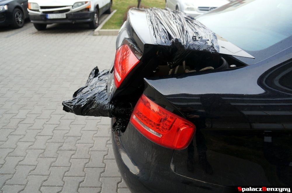 Zapakowany bagażnik Auid A4 B8 sedan 2