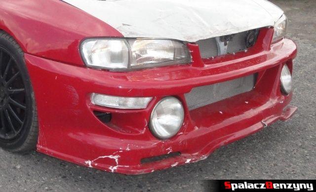 Zderzak auta na Rally Sprint Kulka 2012 w Lublinie