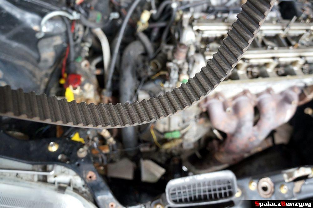 Zdjęty pasek rozrządu w Honda Civic