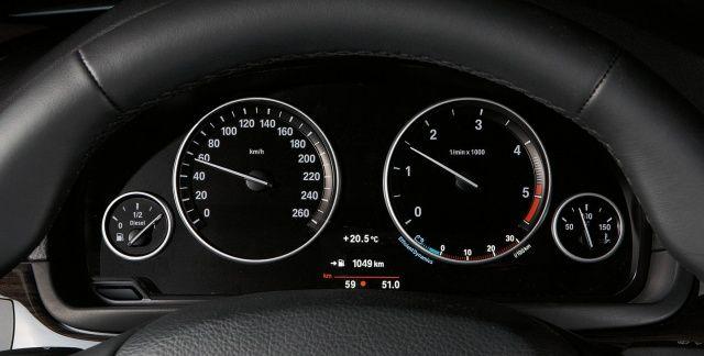 Zegary w BMW serii 5