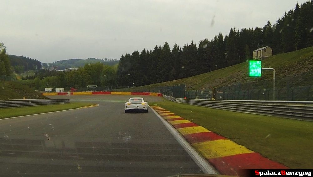 Zielona flaga na Circuit de Spa-Francorchamps