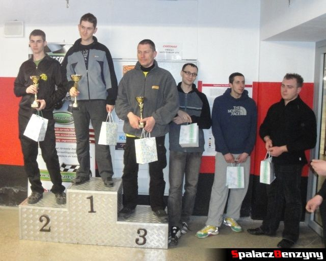 Zwycięzcy turnieju GP Olimp 2012 na podium