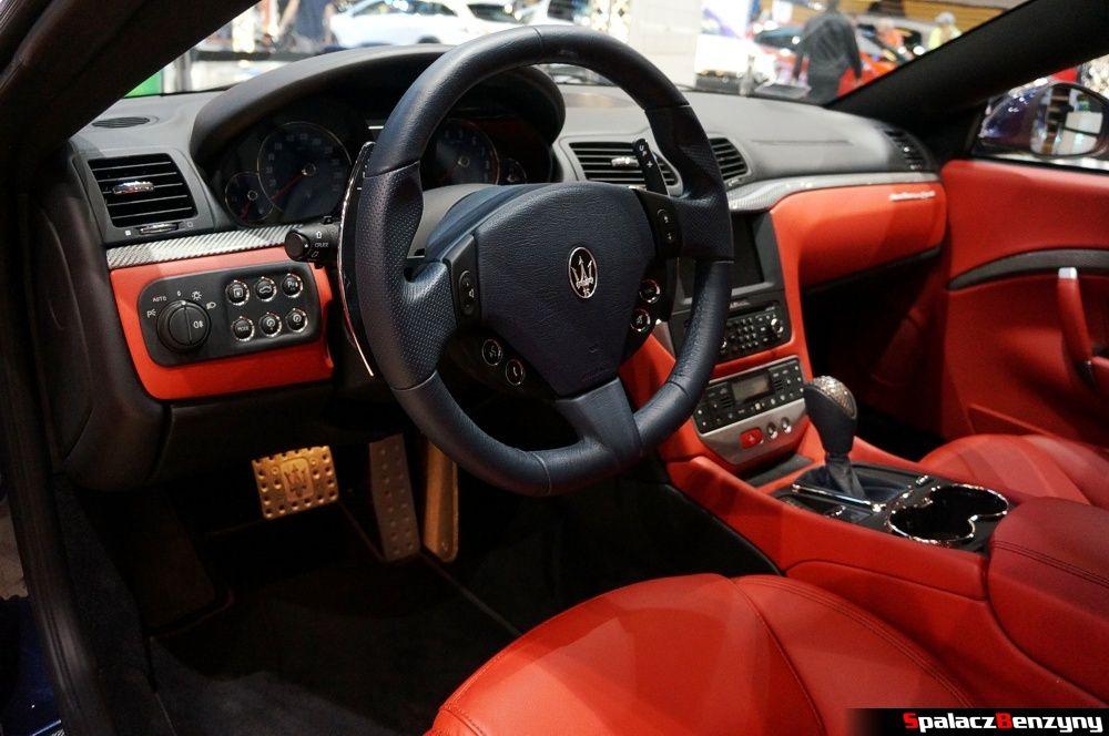 Wnętrze Maserati GranTurismo S