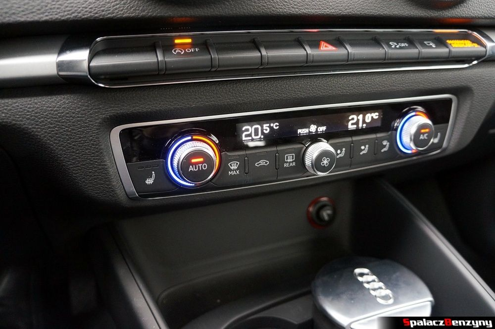 panel klimatyzacji w Audi A3 1.4 TFSI