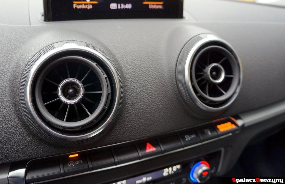 Nawiewy w Audi A3 1.4 TFSI