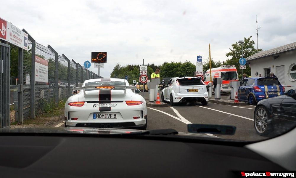 Bramki wjazdowe na Nurburgring Nordschleife 2015