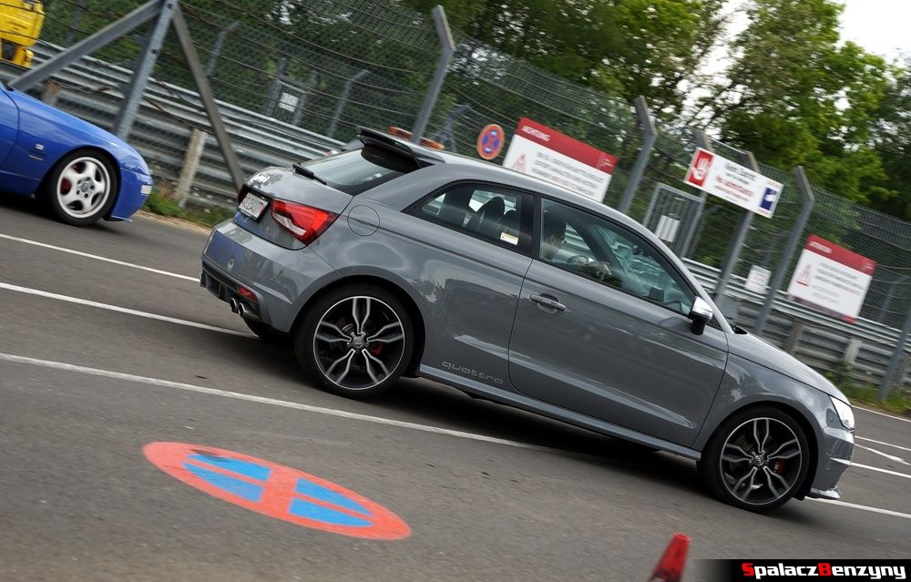 Audi S1 na Nurburgring Nordschleife 2015