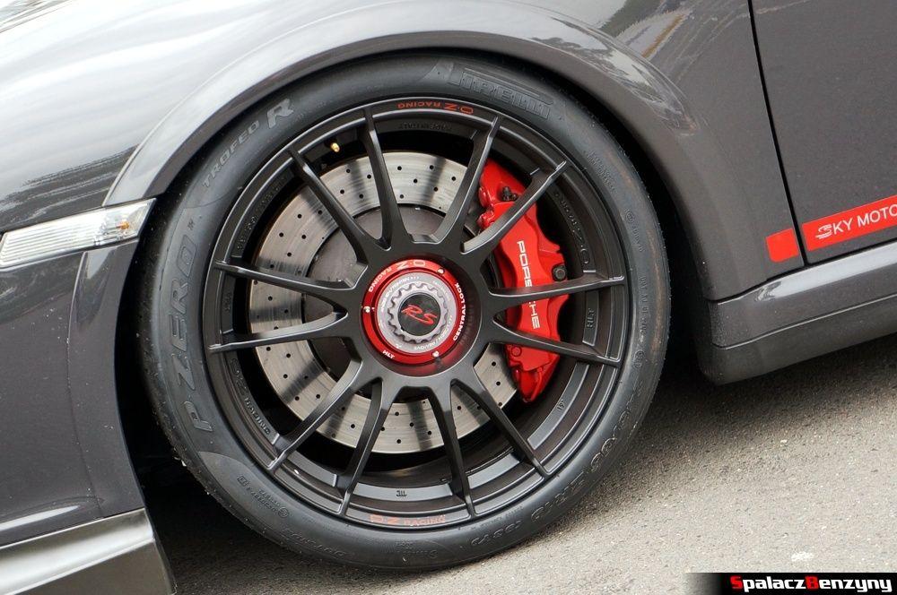 Felga central lock w Porsche 911 GT3 na Nurburgring Nordschleife 2015