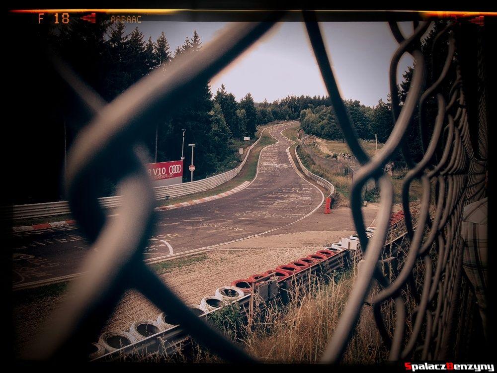 Zakręt widokowy Nurburgring Nordschleife 2015