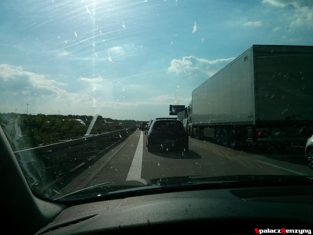 Korki na niemieckich autostradach