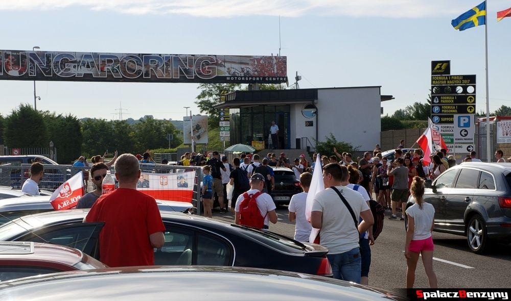 na Testach F1 Hungaroring 2017
