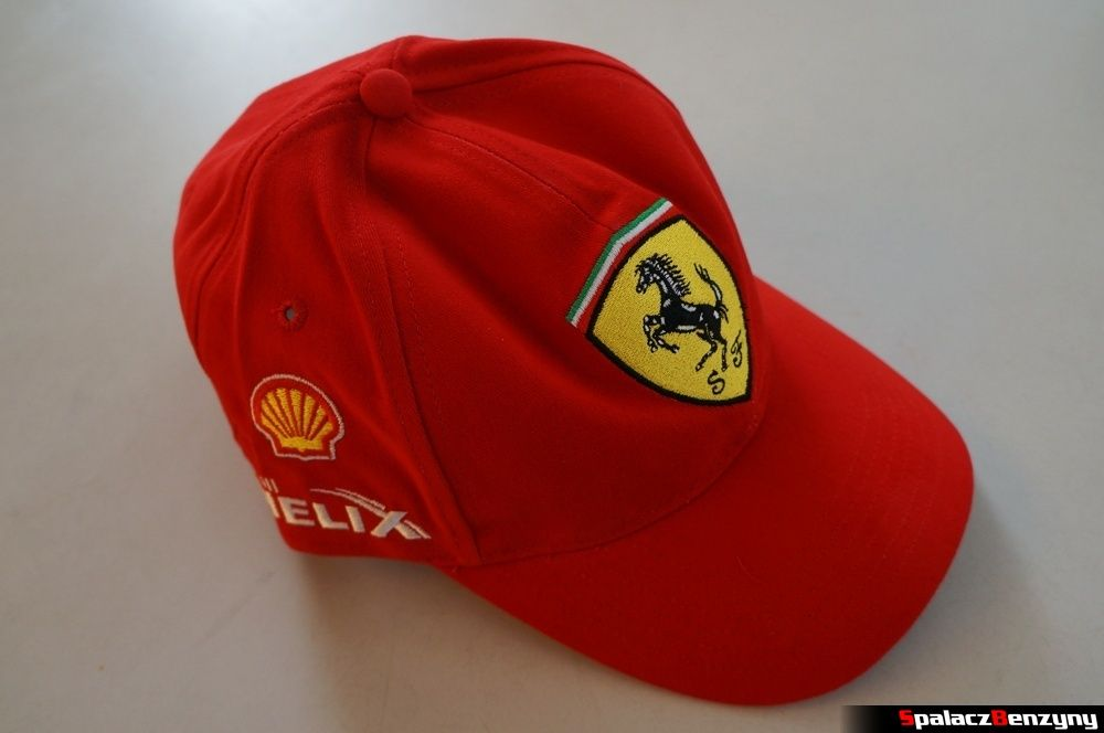 Czapka Ferrari konkurs Shell Helix