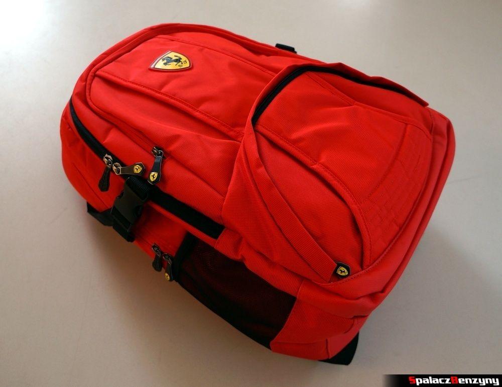 Plecak Ferrari konkurs Shell Helix