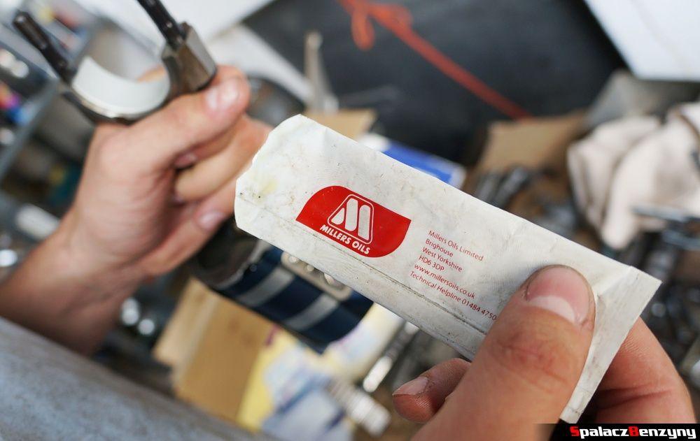 olej Millers to smarowania nowoskładanych elementów silnika