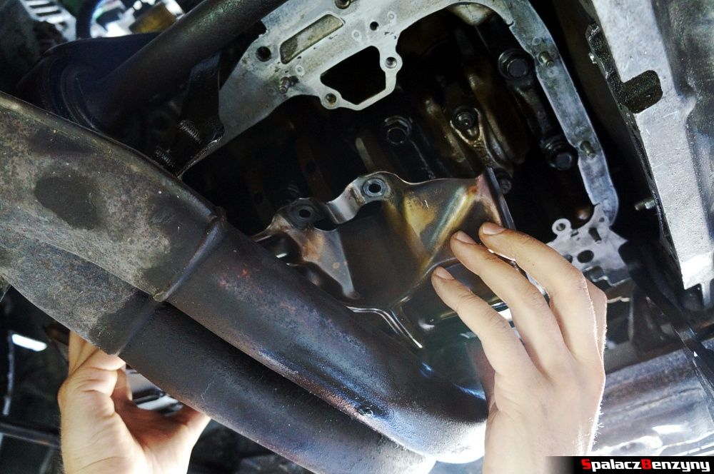 Metalowa osłona komory korbowej Honda Civic