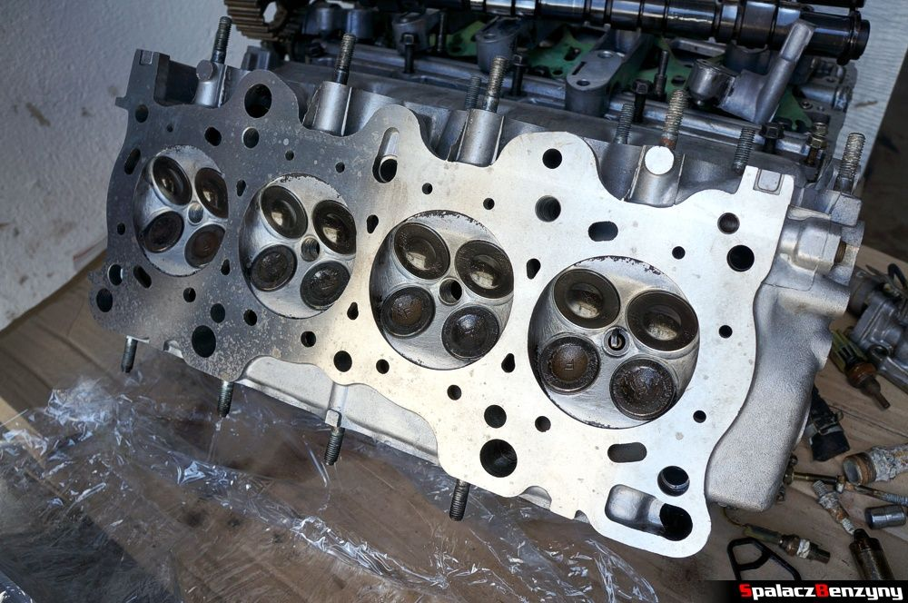 Nowa głowica silnika remont silnika Honda Civic