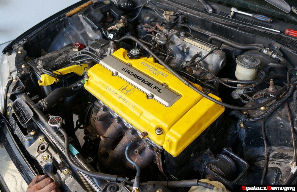 zakończony remont silnika Honda Civic